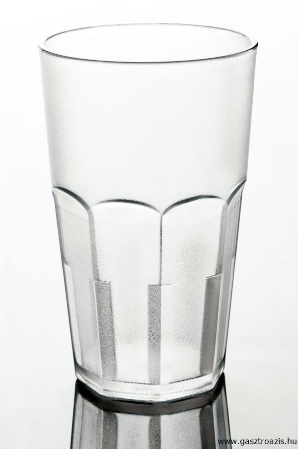 Törhetetlen polikarbonát pohár matt 4,5dl, AKONA (AVM0427)