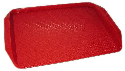 MD tálca Polypropilén 30,5x42,5 cm piros