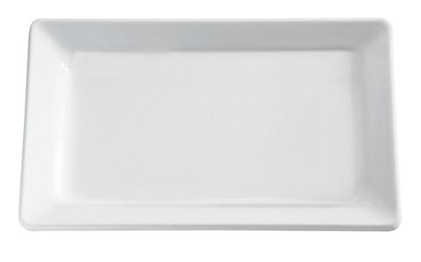 Tálca melamin GN2/4 53x16,2cm - fehér színű