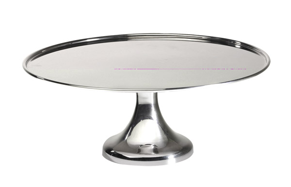 Torta kiemelő állvány rm acél, átm. 34,5 cm, mag 13,5cm