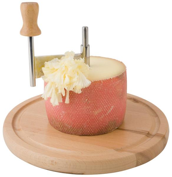 Gyalu sajthoz/csokihoz 3részes (bükkfa talp-átm.22cm, gyalukés-mag.7cm, műa.búra-15x10cm)