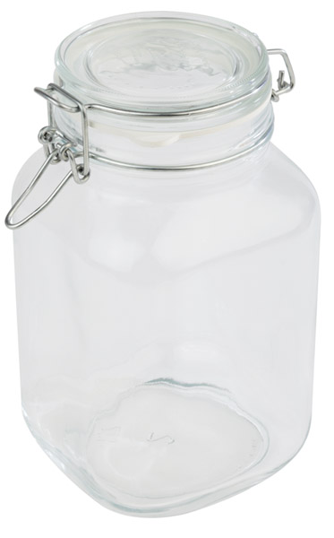 Büfé állvány  csatos üveg 12x12x22cm, ürt:2l