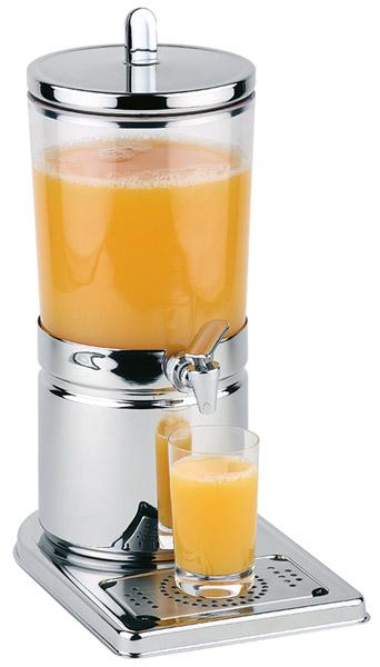"""Juice tartó """"top fresh"""" rm.acél talp, tartály ürt.4.0l+ 2db jégakku (fedőben és tartály alatt)+ rm.acél tető"""