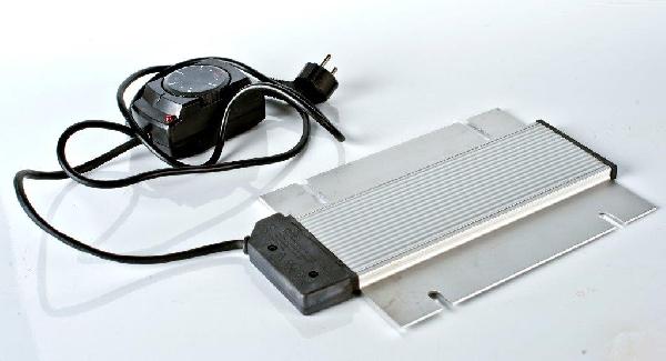 Elektromos melegítőlap hőfokszabályzóval, 380W, 230V