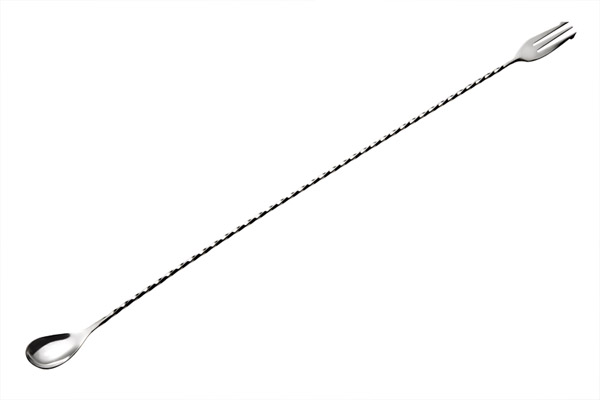 Koktél kanál / villa, 50cm!!!