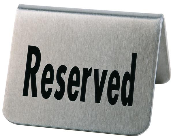 Foglalt tábla, 5,5x5x3,5cm 2db/csomag (AP00013)
