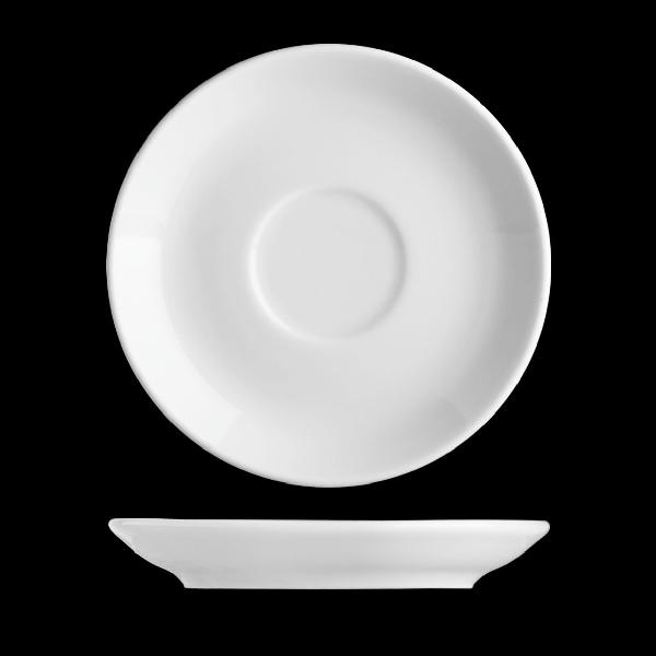 Basic csészealj átm:12cm (BAS0211)