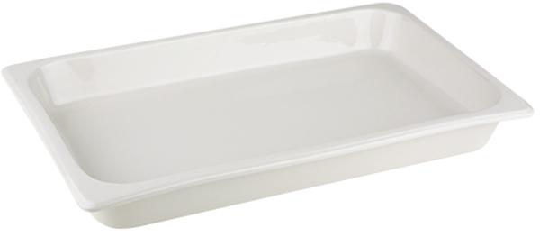 GN 1/1 porcelán tál 53,5x32,5x6,5cm