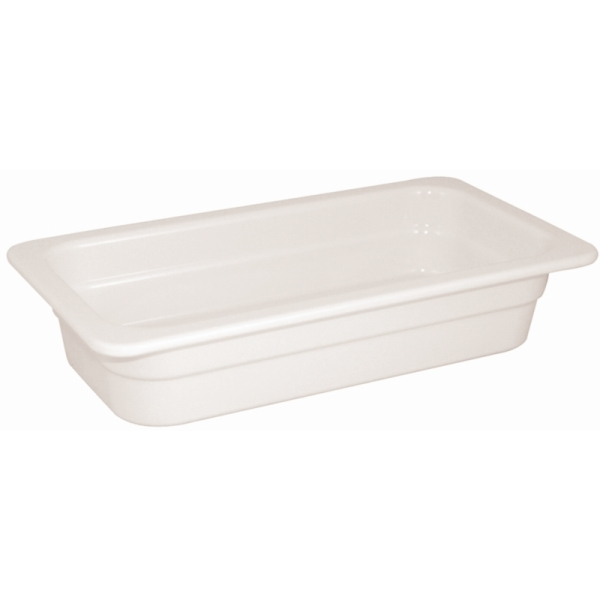 GN 1/3 porcelán tál 32,5x17,6x6,5cm