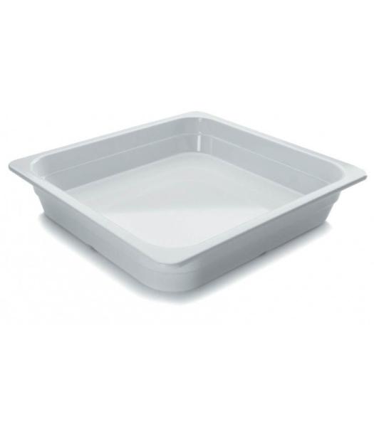 GN 2/3 porcelán tál 32,5x35,4x6,5cm