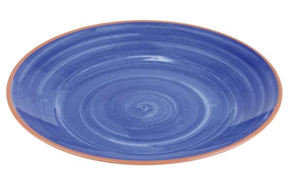 LA VIDA Tál 40,5x5,5cm, kék (AP84170)