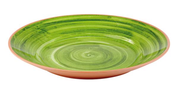 LA VIDA Tál 40,5x5,5cm, zöld (AP84172)