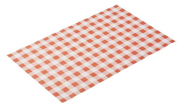 "Zsírpapír snack tartóba, 42x25cm 500DB/csomag ""piros kockás"" DESIGN (AP40672)"