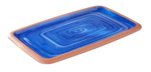 LA VIDA tálca 26,5x32x3,5cm, GN1/2, kék (AP84145)