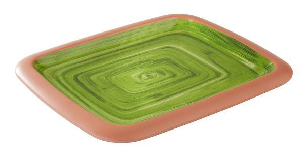 LA VIDA tálca 26,5x32x3,5cm, GN1/2, zöld (AP84148)
