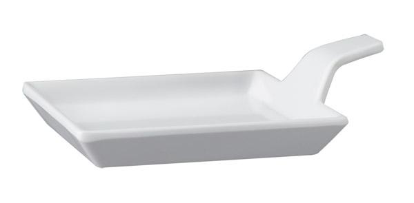 Finger food kanál 9,5x9,5x1,5/3,5cm fehér (AP83878)