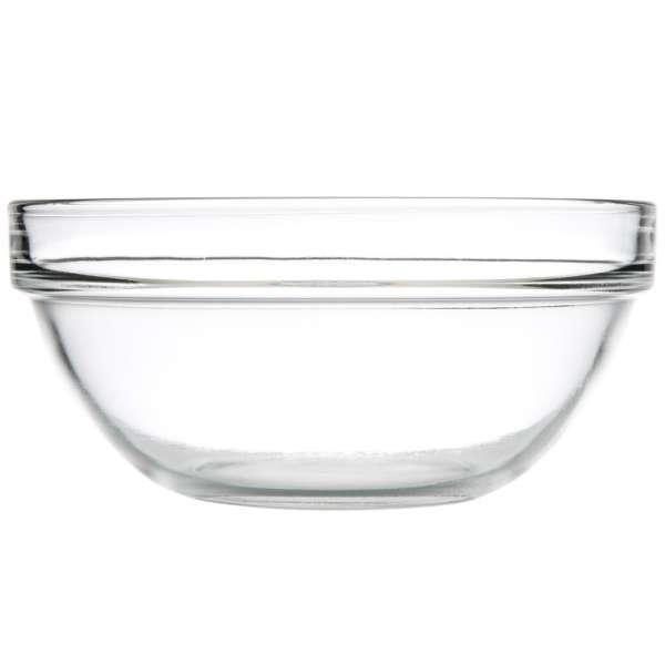 Empilable stócolható, hőálló üvegtál, átm.: 14cm (A207056)