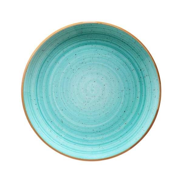 Aqua Perem nélküli tányér 27 cm (BON-AAQGRM 27 DZ)