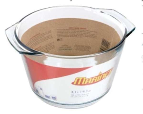 Jénai hőálló levesestál (4 literes) (A201089)