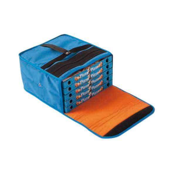 Pizza szállító hőn-tartó táska, 35x35x20cm (5db 35cm-es pizzadoboznak) (P4496006)