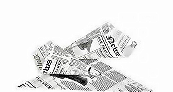Burgonyás háromszög doboz - Újság arculatú - 250 ml 160 x 130 mm papír 250 db/cs ( 27,24 Ft/db) (SZUD1613)
