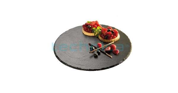 Basalt pala forgatható tortatál Ø 32 cm (AP00975)