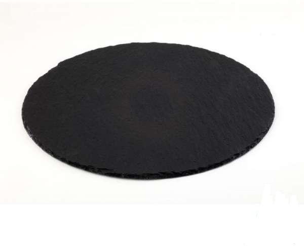 Basalt pala tálca kerek Ø 33cm (AP00998)