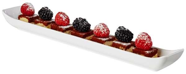 Finger food tálka, melamin 35,0 x 4,5 x 3cm 0,2l (AP84460)