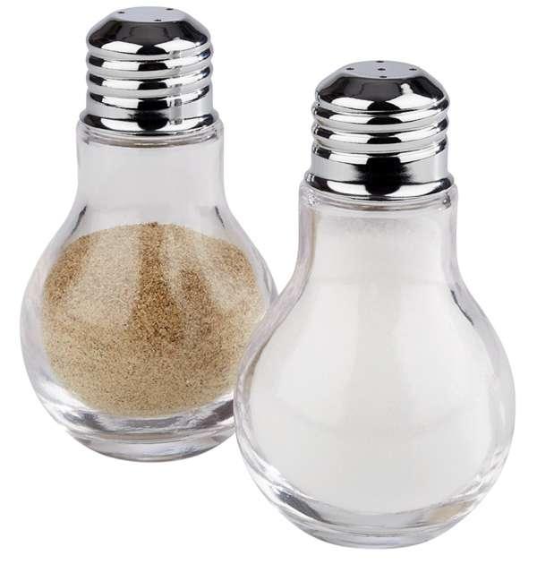 Só és Borsszóró villanykörte Ø 6x10cm (AP40507) 2db/csomag