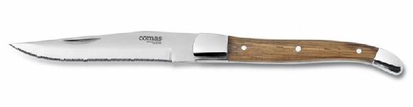 ALPS steak kés,rm.acél,fa nyéllel (FCO3000)