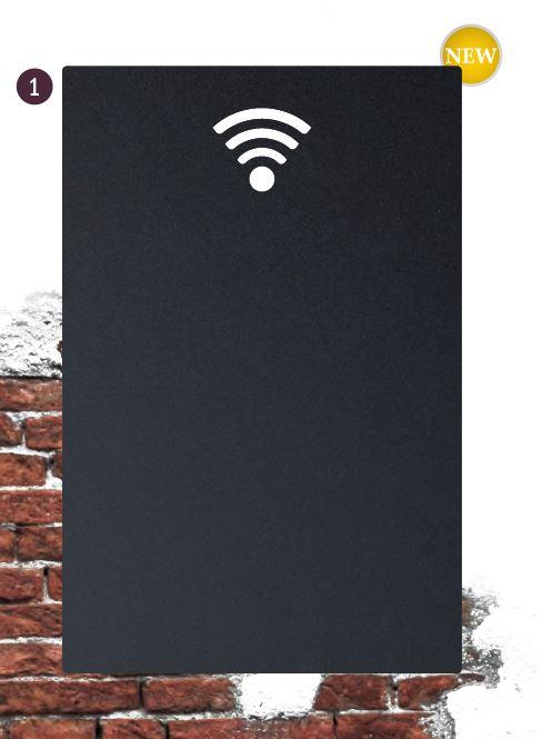 Securit® Kréta tábla 30x50 cm WIFI krétamarkerrel és ragasztócsíkkal (SEC1023)