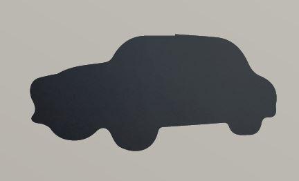 """Securit® sziluett kréta tábla, """"KIDS MENU"""" Autó- tartalmaz tábla markert és falra ragasztó csíkot - 30x50cm (SEC1030)"""