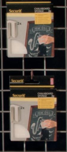 Securit® Mágikus törlő szivacs; eltávolítja a nehezen letörölhető kréta foltokat is/ 2 darabos készlet (SEC1158)