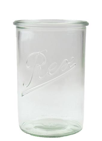 1.050 l REX-STURZ üveg FEHÉR színben (BREX880)