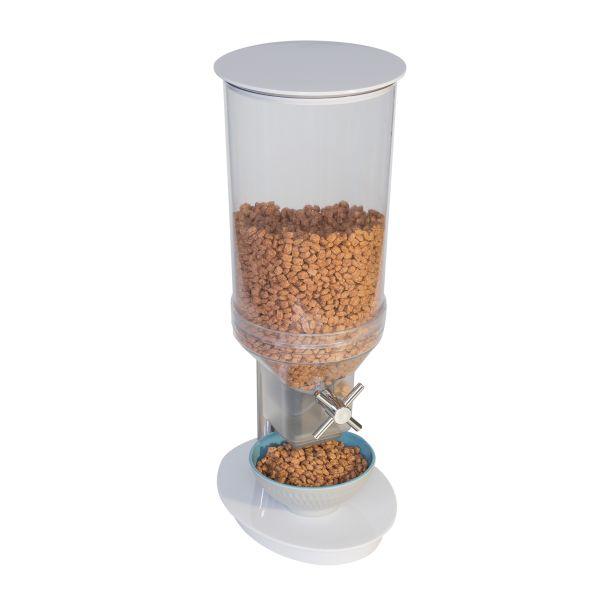 Müzli adagoló malom 4,5l, 24,0x17,5x49,5cm fehér/átlátszó polikarbonát/melamin kivitel, (AP12050)