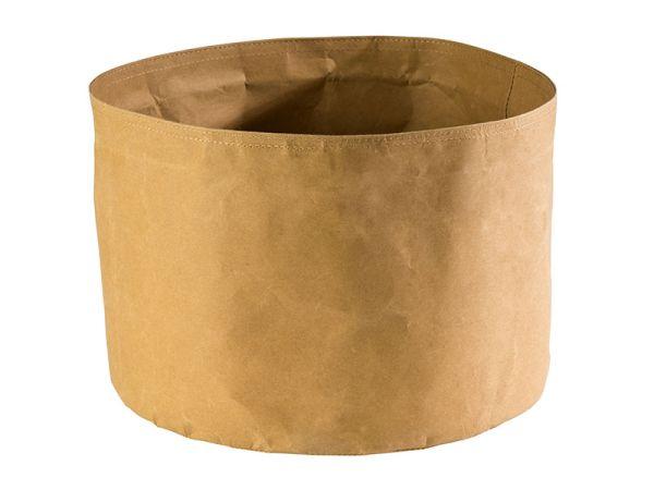 Nátronpapír vízálló kenyérkosár világosbarna, extra strapabíró kemény papírból 30x22cm (AP30443)