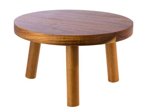 """Asztali fa kiemelő """"SÁMLI"""" 25x15cm akácia fából (AP33256)"""