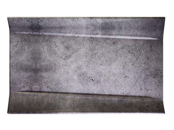 """GN 1/1 53,0x32,5x3,5cm """"ELEMENT"""" kő hatású melamin tálca felhajtott oldallal (AP84400)"""