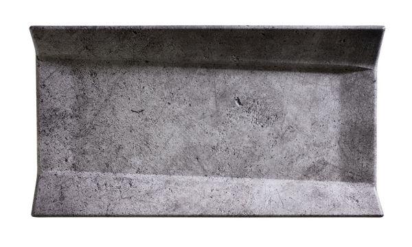 """GN 1/3 17,5x32,5x3,5cm """"ELEMENT"""" kő hatású melamin tálca felhajtott oldallal (AP84402)"""