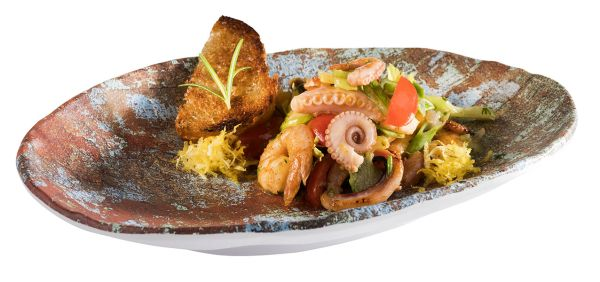 """""""AQUARIS"""" tányér 24x17x3,5cm (AP84748)"""