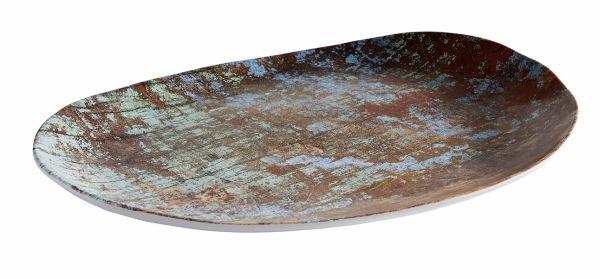 """""""AQUARIS"""" tányér 40,5x30x3,5cm (AP84749)"""