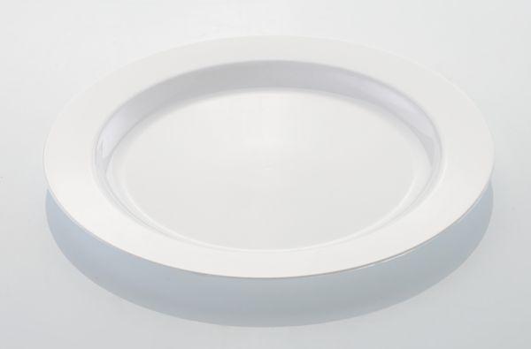 Lapostányér műanyag többször használatos 23cm (AVM0534)
