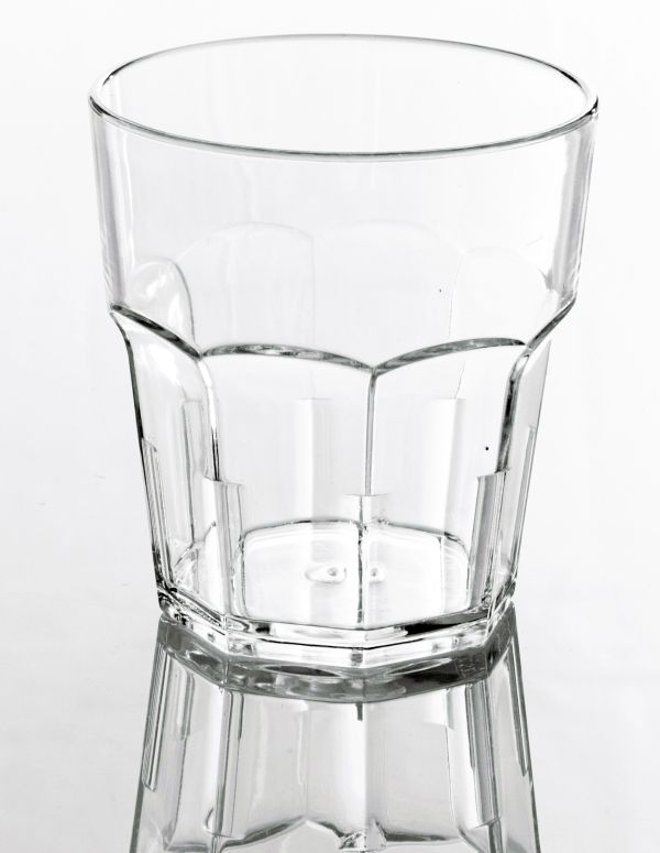 Törhetetlen polikarbonát pohár víztiszta 2,3dl, AKONA (AVM0421)