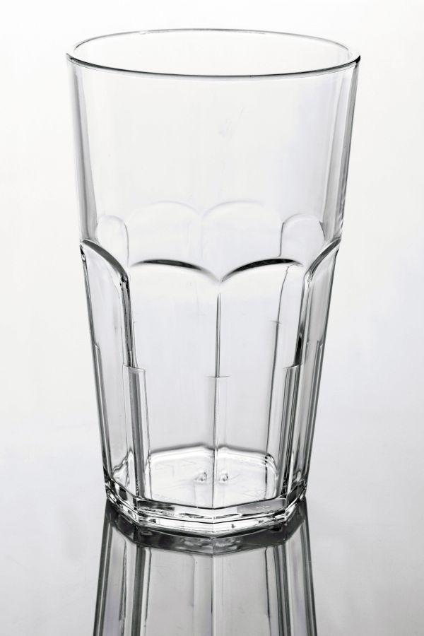 Törhetetlen polikarbonát pohár víztiszta 3,3dl, AKONA (AVM0423)