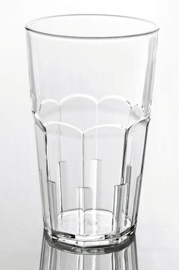 Törhetetlen polikarbonát pohár víztiszta 4,5dl, AKONA (AVM0424)