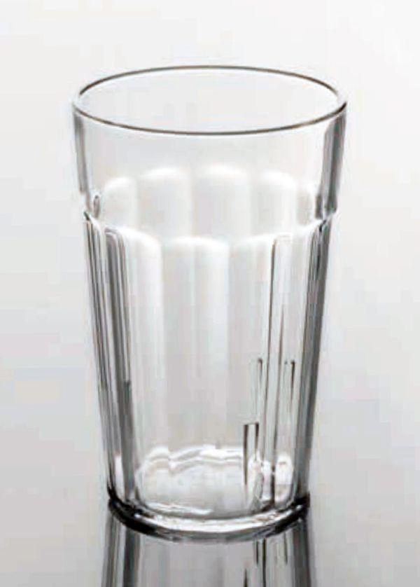 Törhetetlen polikarbonát pohár víztiszta 2,4dl, OPTIC (AVM0431)