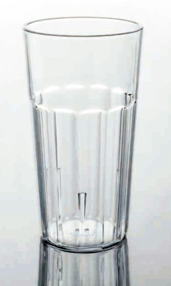 Törhetetlen polikarbonát pohár víztiszta 4,0dl, OPTIC (AVM0433)