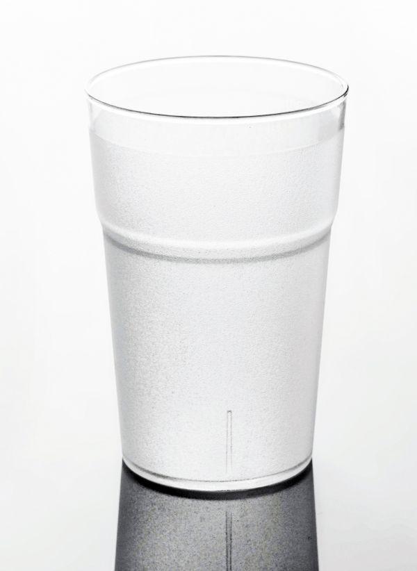 Törhetetlen polikarbonát pohár matt 3,5dl, HILO (AVM0438)