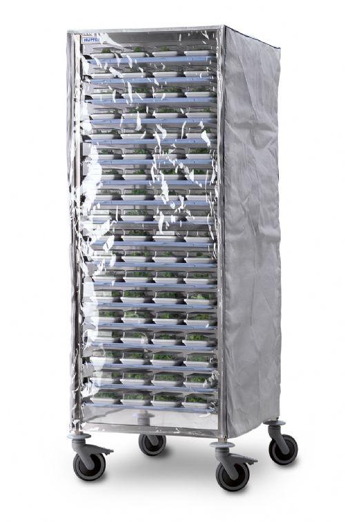 Tálca leszedő regál takaró ponyva AVM2001 kocsihoz, strapabíró kivitelben, fehér színben. Elől átlátszó, zipzáros kivitelben, nyitható (ZP11002)