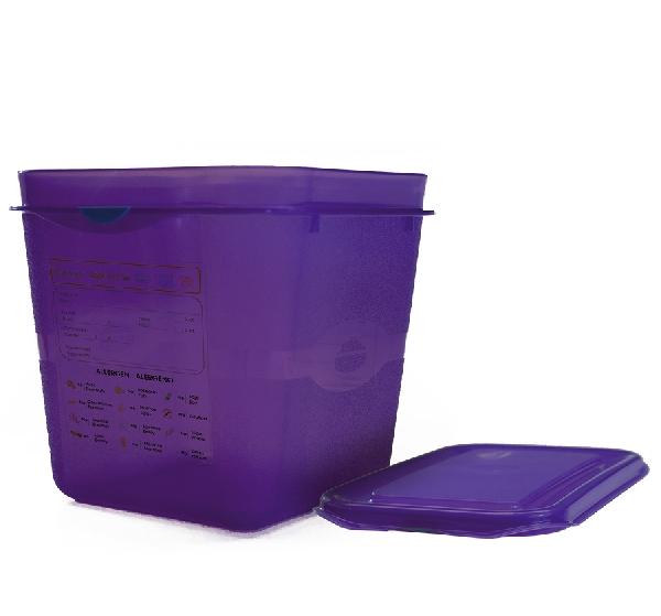 GN 1/6 150-es allergén ételtároló doboz 2,6 l (K80032600)